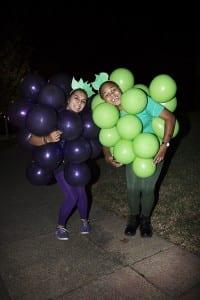 Halloween 2015 Isabella ja Lilah