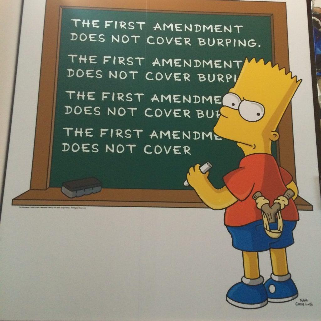 """""""Newseum –museossa Washington DC:ssä sananvapaus on esillä monesta kulmasta""""."""