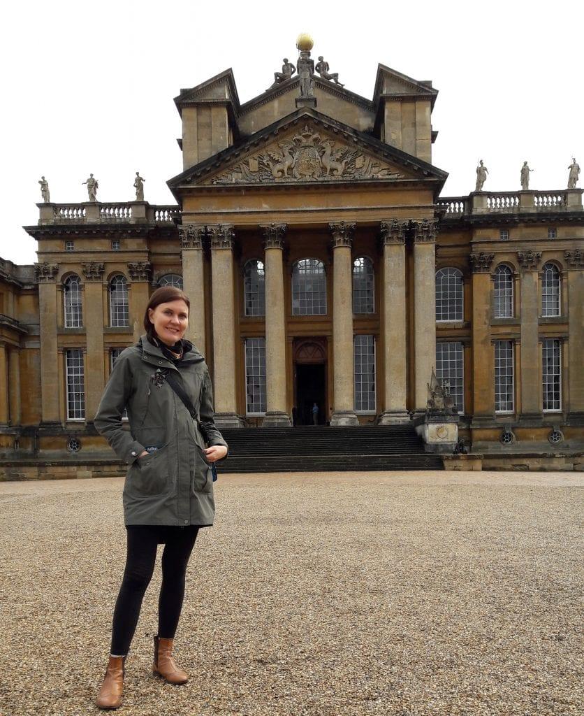 Ennen opintojen alkamista ehdin tehdä retken Winston Churchillin synnyinkotiin Blenheim Palaceen, joka sijaitsee lyhyen bussimatkan päässä Oxfordista.
