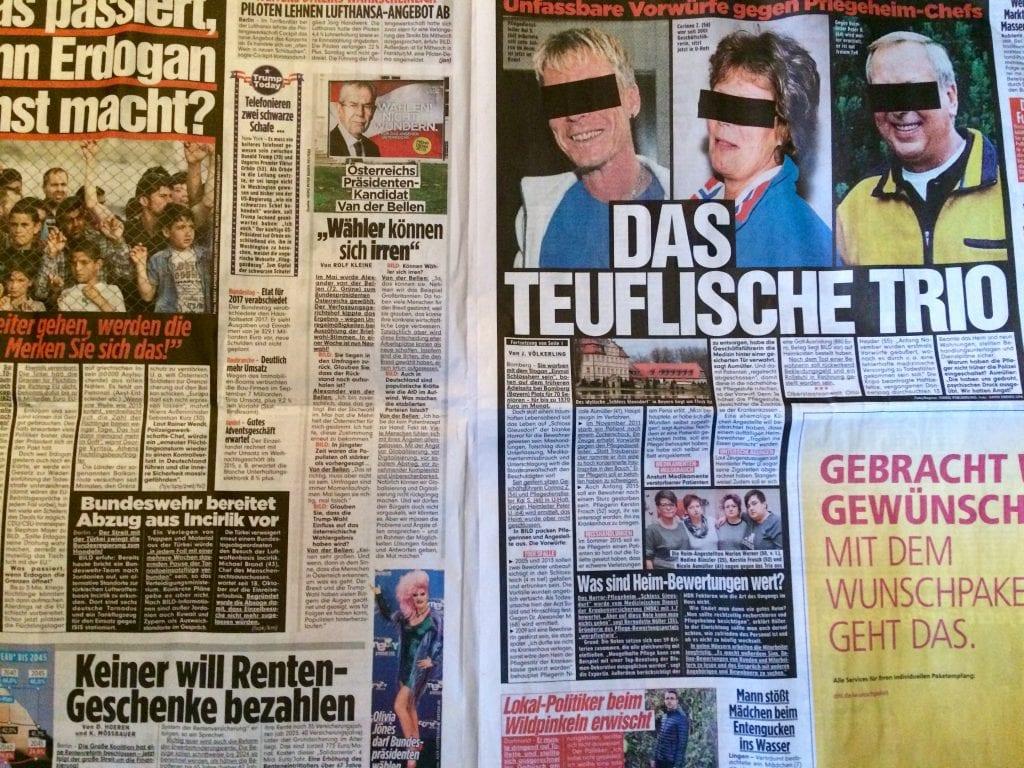 Saksalainen iltapäivälehti Bild ei valehtele, ainakaan paljon.