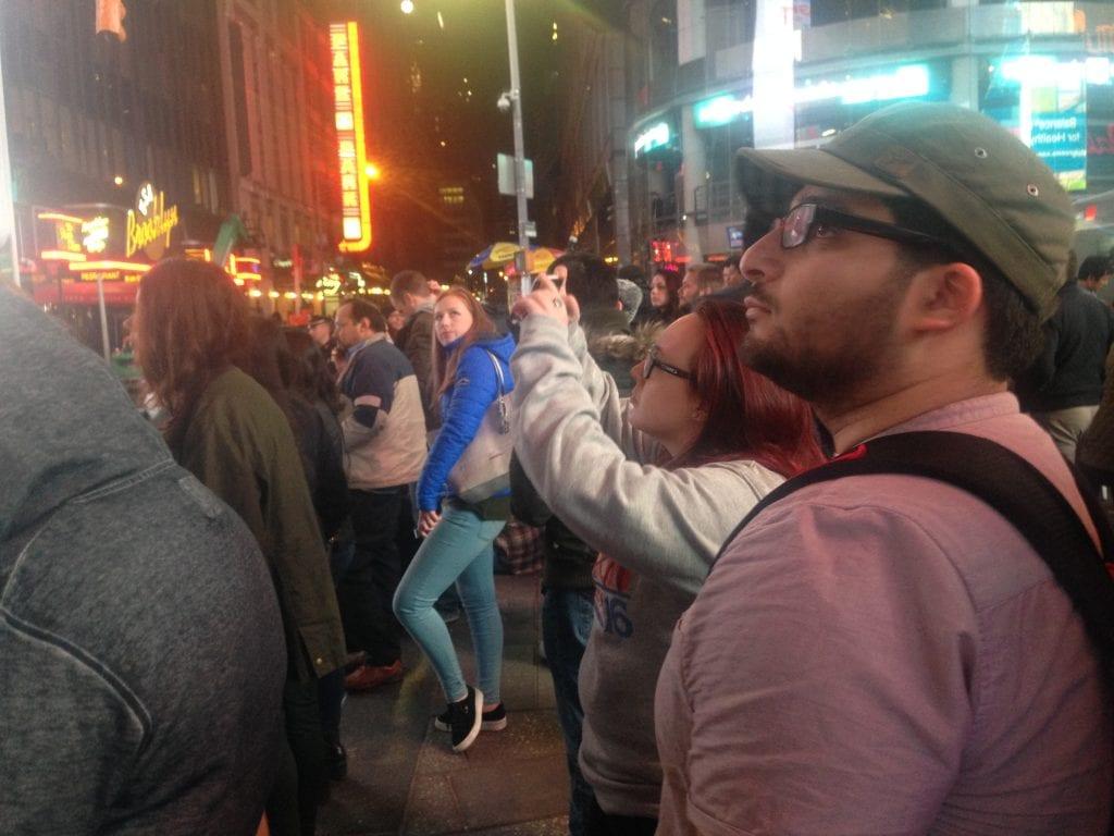 Newyorkilaisista liki 70 prosenttia äänesti Hillarya. Time Squarelle oli kokoontunut hänen kannattajiaan. Ihmiset olivat tyrmistyneitä tuloksen selvittyä.