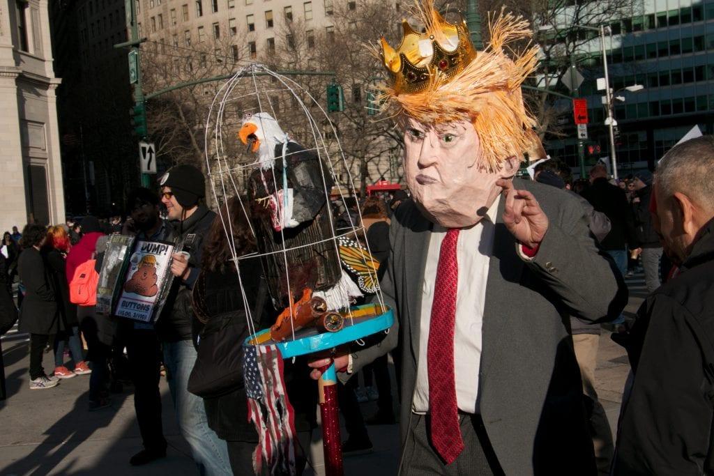 """""""Me Trumpin vastustajat olemme kuin kiukuttelevia pikkulapsia"""""""