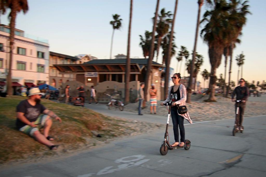 Los Angelesin liikenne takkuaa, mutta tuottaa hyviä innovaatioita