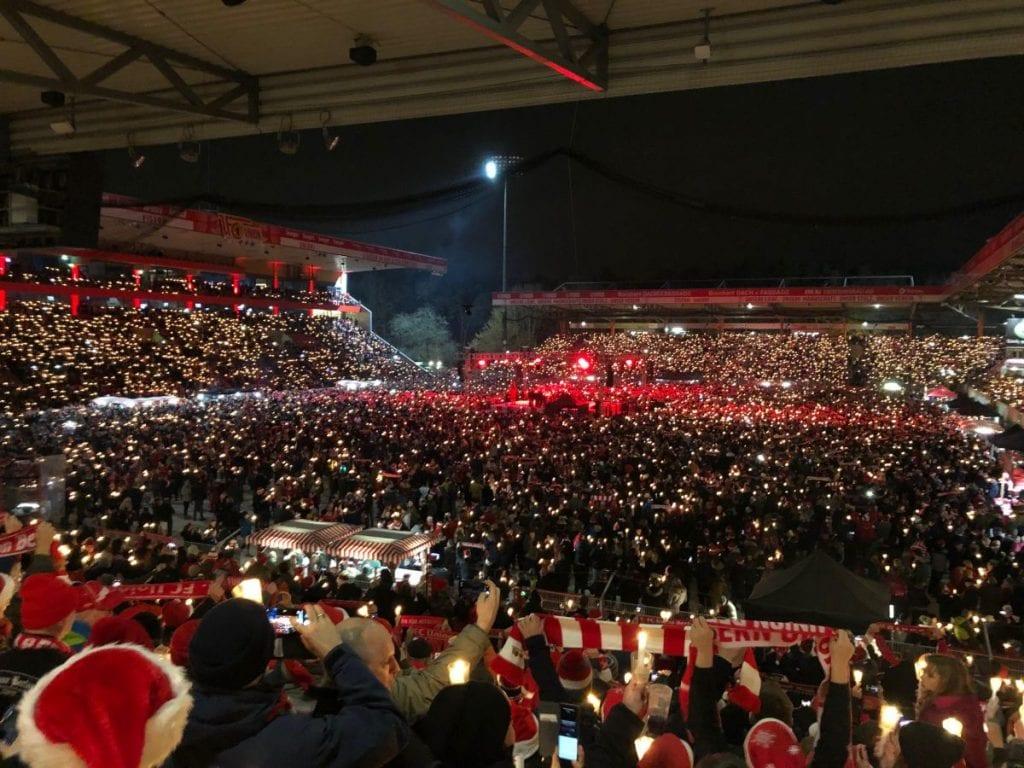 Unohtumaton jouluelämys ja historiallinen asetelma – tällaisia ovat Berliinin futisylpeydet Union ja Hertha