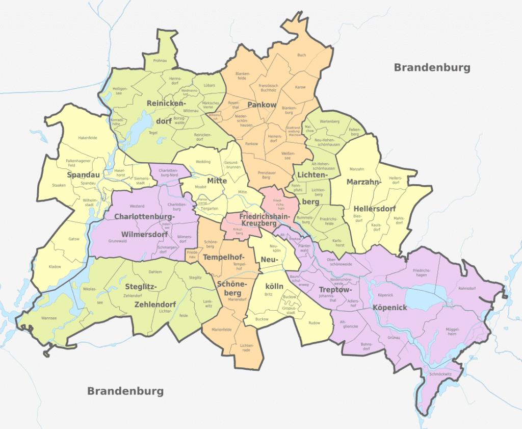 Berliinin kaupunginosat – betonihelvetistä ravintolakeitaisiin, turistirysistä vehreisiin idylleihin